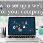 How to set up a website