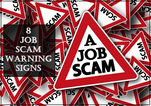 Warning signs of a job scam