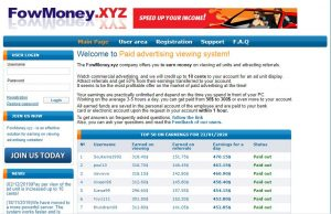 fowmoney.xyz scam website