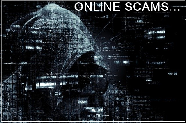 Online scams - Viewing adverts for cash