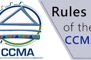 rules of the ccma