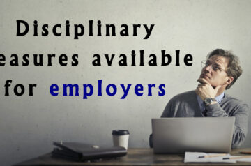 disciplinary measures for employers