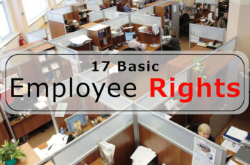 17 basic employee rights