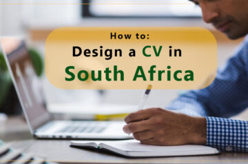 how to write a cv in south africa
